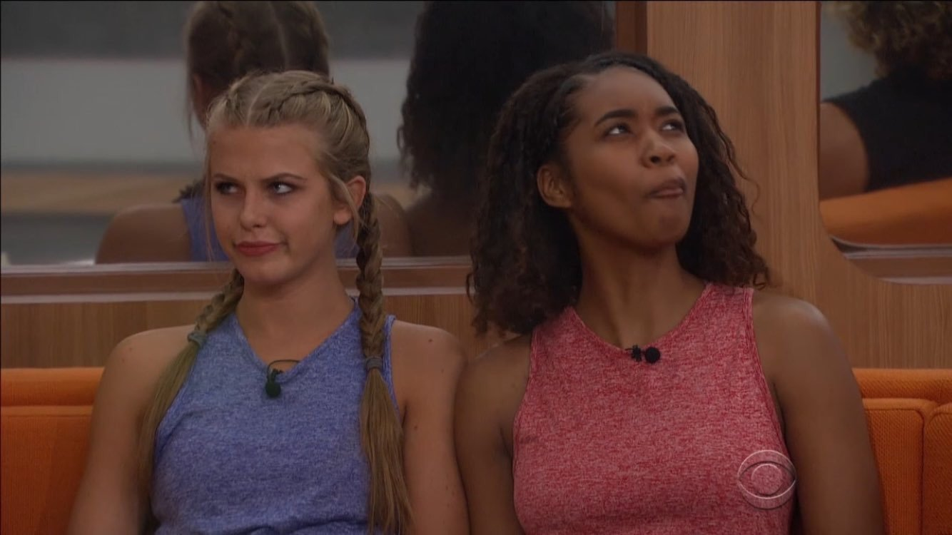 Bayleigh Dayton and Hailey Broucher, houseguests from Big Brother 20