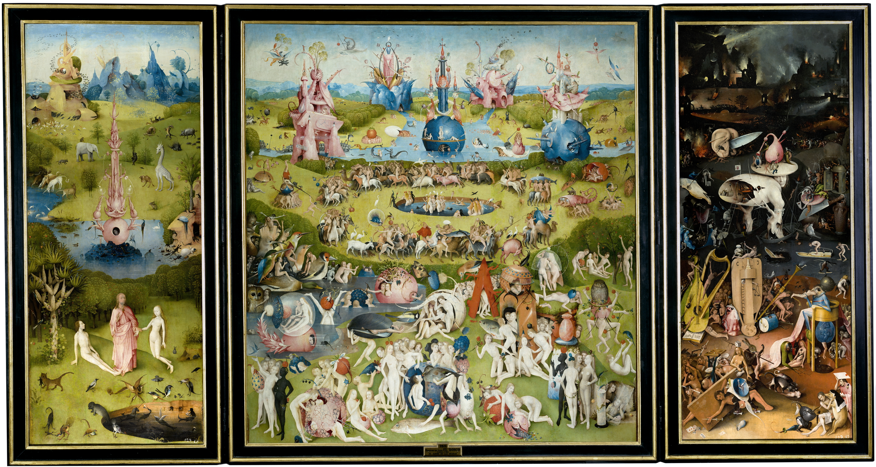 Bosch's The Garden of Earthly Delights