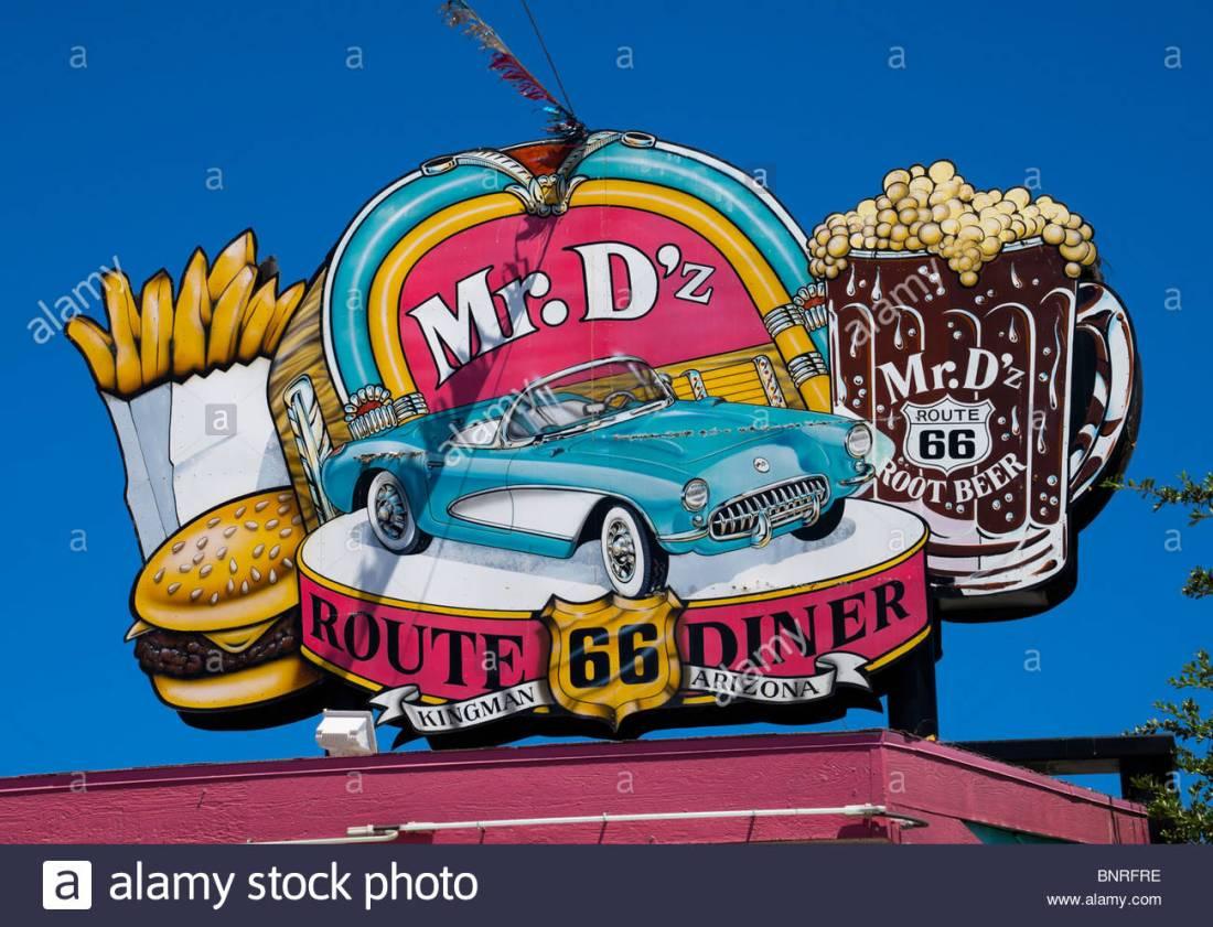 Route 66 Americana car culture