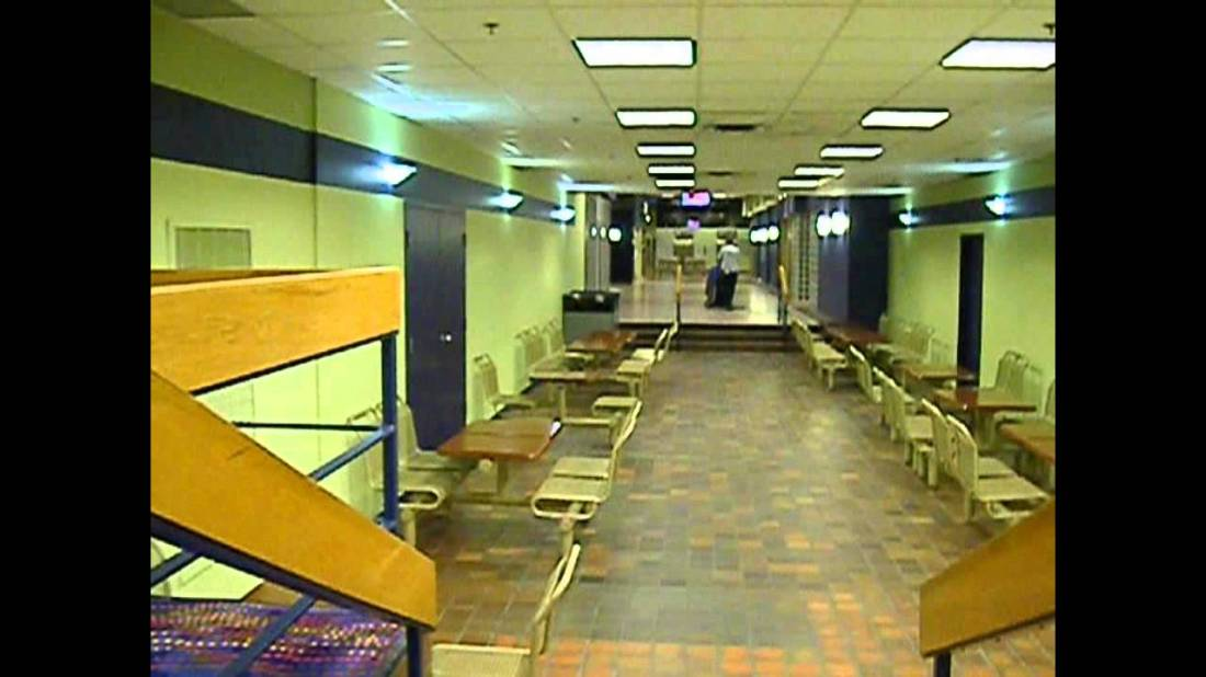 An abandoned underground mall in Ottawa