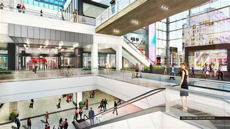 concept art of Fashion District Mall in Philadelphia
